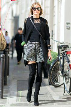 Con bermudas o minifalda