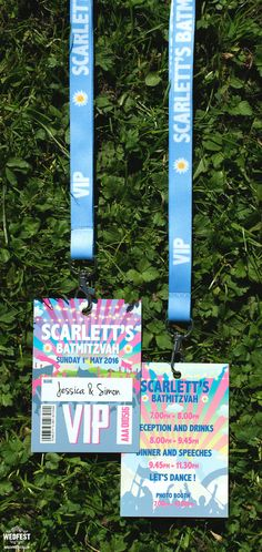 festival bat bar mitzvah vip pass invites http://www.wedfest.co/alternative-festival-themed-bat-mitzvah-invites/