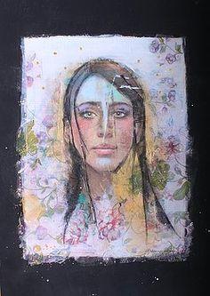 Mixed Media - Metamorphosis by Johanna Virtanen , Original Paintings, Painting, Metamorphosis, Art, Original Art, Saatchi Art, Paper Art, Prints, Portraiture Art