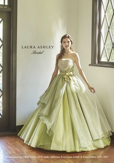 LAURA ASHLEY Bridal   Planning, manufacturing and wholesale of wedding dresses in Kyoto   Grace Corporation