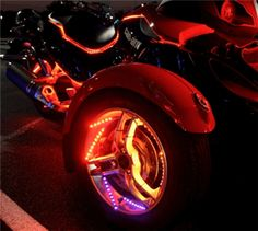 POWER-PUC, Wheel Light Kits for Can-Am Spyder