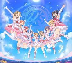 Artist: Makita (Pixiv 977150)   Love Live! School Idol Project   Ayase Eri   Hoshizora Rin   Koizumi Hanayo   Kousaka Honoka   Minami Kotori   Nishikino Maki   Sonoda Umi   Toujou Nozomi   Yazawa Niko