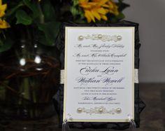 Black SatinRosette Panel Wedding & Event Invitation by CutInvites, $10.00 Formal Invitations, Rosettes, Black Satin, Wedding Events, Trending Outfits, Unique Jewelry, Handmade Gifts, Inspiration, Etsy