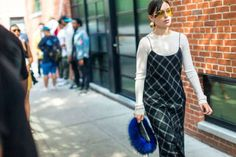Image result for furry bag street style