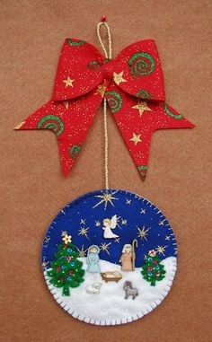 Christmas Decorations Sewing, Vintage Christmas Crafts, Christmas Clay, Christmas Crafts For Gifts, Felt Christmas Ornaments, Handmade Christmas, Cd Crafts, Craft Stick Crafts, Diy And Crafts