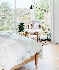 I could definitely sleep here! www.stylescene.com.au