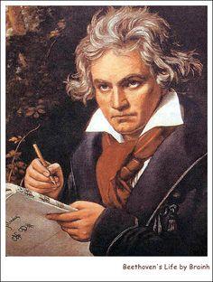 50세의 베토벤-장엄미사를 작곡중인 베토벤 1819 (출처:1)