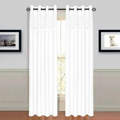 Somerset Home Alla Grommet Curtain Panel
