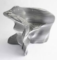 Mathias Bengtsson Aluminum Slice Chair
