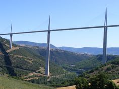 The Millau Viaduct is a cable-stayed road-bridge that spans the valley of the river Tarn near Millau in southern France. The tallest cable-stayed road bridge in the world, Millau Viaduct carries the A75 autoroute across the valley of the River Tarn near Millau, relieves the town of much traffic, especially during the summer months.