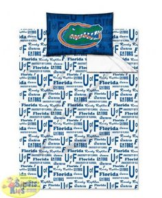 Northwest Florida Gators Twin Sheet Set (Anthem Series) - SportsKids Superstore