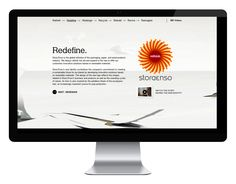 Stora Enso Rethink – verkkosivuston suunnittelu