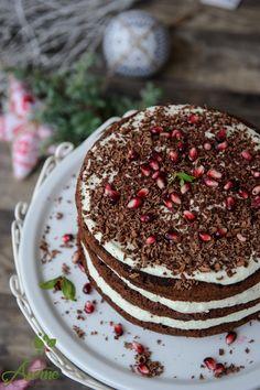 Tort fara gluten cu menta si mascarpone Vegan Desserts, Tiramisu, Gluten, Healthy Eating, Cooking Recipes, Yummy Food, Favorite Recipes, Breakfast, Cake