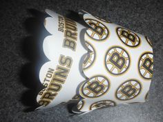 Boston Bruins Cupcake Wrappers  Hockey by DyansCupcakeCouture, $4.99