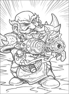 Sylvanas Windrunner World of Warcraft coloring pages for