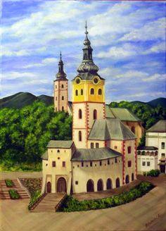 Paintings by Kika: Barbakan - Banská Bystrica