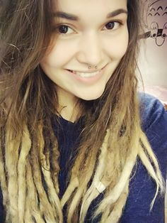 Ombre Dreads.