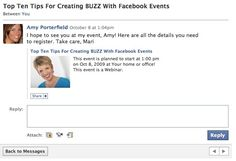 Discover how to create buzz with Facebook Events.  Follow these 10 tips for this Facebook tool for great event marketing on this leading social media platform.