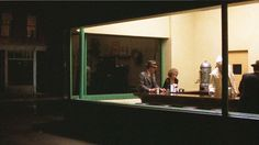 """In the period piece Pennies from Heaven (1981), Willis recreated Edward Hopper's famous 1940s painting, """"Nighthawks."""" 
