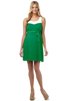 Molly Dress- Rosie Pope Maternity.  The regal color makes this dress great for spring!