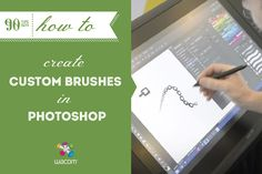 Sometimes the default brushes in Photoshop just won't cut it. Want to create a distinctive brush of your own but not sure how? Author and Character Artist Trent Kaniuga comes to the rescue in today #90tips: How to create custom brushes in #Photoshop.