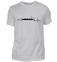 Heartbeat Berlin - T-Shirt Barcelona T Shirt, In A Heartbeat, Mens Tops, Fashion, Cotton, Barcelona Shirt, Moda, Fashion Styles