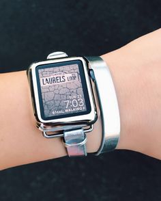 A personal favorite from my Etsy shop https://www.etsy.com/listing/518906744/apple-watch-band-gift-for-her-leather