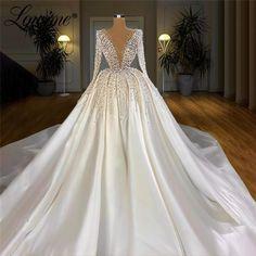 Turkish Wedding Dress, Fancy Wedding Dresses, Luxury Wedding Dress, Princess Wedding Dresses, Bridal Dresses, Crystal Wedding Dresses, Satin Wedding Gowns, Ball Dresses, Stunning Wedding Dresses