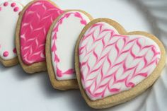 My View From The Avenue: Marbled Royal Icing Cookies