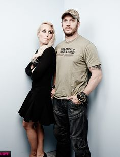 Tom Hardy and Noomi Rapace - Toronto Sept. 6th 2014