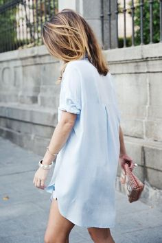 Amazing and simple summer dress. I love to use my denim shirt as summer dress.  Have you seen this one: http://asos.do/5I20mN