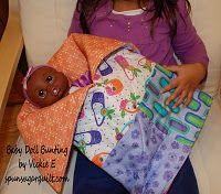 Baby Doll Bunting tutorial pattern on Moda Bakeshop