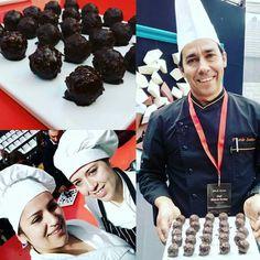 Show cooking... Trufas Foie Gran #feiradechocolate #chocolate