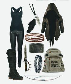 Zombie Apocalypse Outfit, Apocalypse Fashion, Apocalypse Survival, Fashion Tips For Women, Trendy Fashion, Womens Fashion, Fashion Trends, Fashion Ideas, Badass Women Fashion