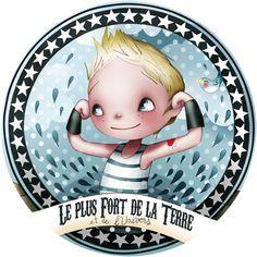 Badge L+FORT;celui la il est deja dans sa chambre!!!