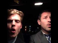 "Ian Bohen & Daniel Sharman lip-sync ""Hello"" (Adele) - YouTube. THIS IS ADORABLE ❤"