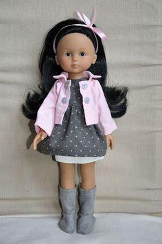 61 meilleures images du tableau vêtements poupées   Couture enfant ... e8ca32ec1b8