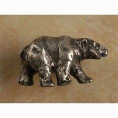 Bear-rt knob (Pewter Matte) (Pack of 10)