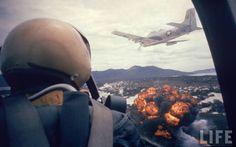 napalm bombing in Vietnam