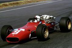 Amon 1967 Mexico. Ferrari 312 V-12