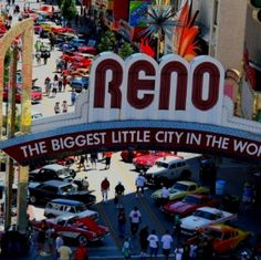 Reno NV during Hot August Nights