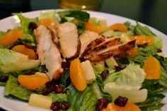 Restaurant Salad Hacks: Olive Garden and Chili's Grilled Caribbean Salad Dressing :  Honey Lime Salad Dressing Recipe - As The Bunny Hops