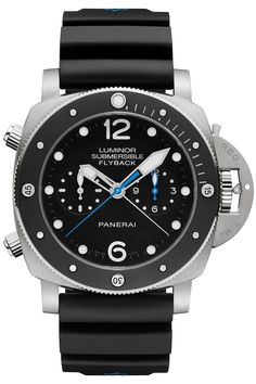 c69172278be The Watch Quote  Photo - Panerai Luminor Submersible 1950 3 Days Chrono  Flyback Automatic Titanio –