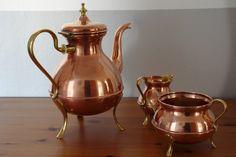 Antique Swedish Coffee Set by Oscar Nilsson of Eskilstuna by DeeGeeRetro on Etsy