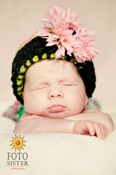 Baby-love the hat Great grandma will have to make this