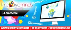 Get the latest and best innovative eCommerce services at an affordable cost only at http://www.kre8iveminds.com/