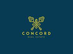Concord Real Estate Logo by Aditya Chhatrala