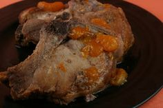 A Year of Slow Cooking: Orange-Apricot Pork Chops in the CrockPot