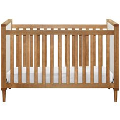 Skip 3-IN-1 Convertible Crib with Toddler Rail by Babyletto at BabyEarth.com, $299.99