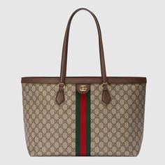 Gucci Tote Bag, Gucci Bags, Gucci Handbags, Luxury Handbags, Double G, Gucci Gifts, Travel Bags For Women, Small Messenger Bag, Designer Totes